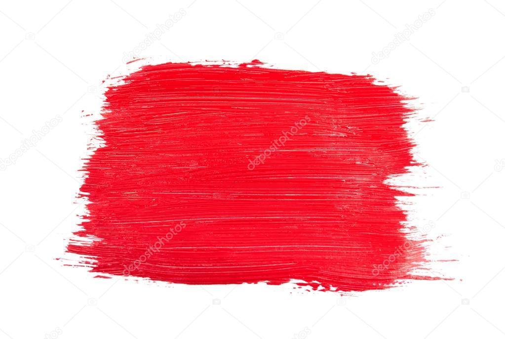 红色的笔触 — 图库照片08krasyuk#89360488