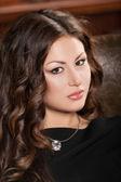 Beautiful woman face — Stock Photo