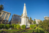 The Piramide de Mayo in Buenos Aires, Argentina. — Stock Photo
