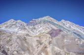 Aconcagua, in the Andes mountains in Mendoza, Argentina. — Stock fotografie