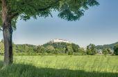Klessheim Kalesi (festung hohensalzburg), salzburg, Avusturya — Stok fotoğraf