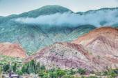 Hill of Seven Colors in Jujuy, Argentina. — Stock Photo