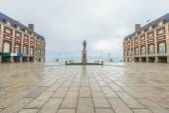 Almirante Brown Square in Mar del Plata, Argentina — Stock Photo
