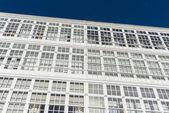Wooden glazed windows in A Coruna, Galicia, Spain. — Stock Photo