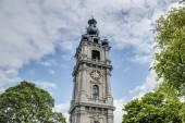 Belfry of Mons in Belgium. — Stock Photo