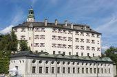 Ambras Castle near Innsbruck, Austria. — Stock Photo