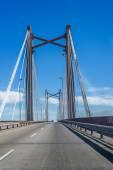Zarate brazo largo köprüsü, entre rios, arjantin — Stok fotoğraf