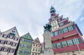 Oude stadhuis in esslingen am nechar, duitsland — Stockfoto