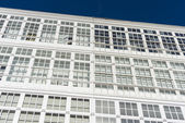 Wooden glazed windows in A Coruna, Galicia, Spain. — Stock Photo