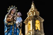 Santa Marija Assunta procession in Gudja, Malta. — Stock Photo