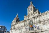 A Coruna Town Hall in A Coruna, Spain. — Stock Photo