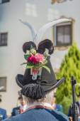 Maria ascensión procesión oberperfuss, austria. — Foto de Stock