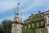 Pilory Fountain in Mons, Belgium — Stock Photo