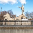 Fountain of Neptune in Madrid, Spain. — Stock Photo #61477167