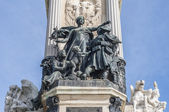 Monument to King Alfonso XII in Madrid, Spain. — Stock Photo