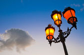 Streetlamp — Stock Photo