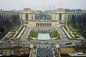 Warsaw square at Paris, France — Stock Photo