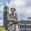 Rembrandt statue in Amsterdam, Netherlands — Stock Photo #61830315