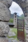 Santa Coloma church at Andorra — Foto de Stock