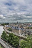 Fiume Sambre attraverso Namur, Belgio — Foto Stock