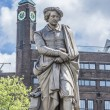 Rembrandt statue in Amsterdam, Netherlands — Stock Photo #62211141