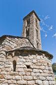 Sant Miquel church at Engolasters, Andorra — Stockfoto