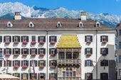 Das goldene dachl in innsbruck, österreich. — Stockfoto
