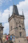 Mala Strana Bridge Tower — Stock Photo