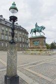 Folkets Kaerlighed statue at Copenhagen — Stock Photo