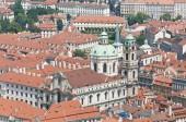 Saint Nicholas Church at Prague — Stockfoto