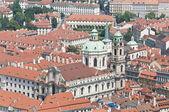 Saint Nicholas Church at Prague — Stok fotoğraf