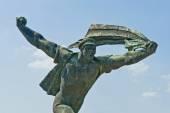 Statue Park near Budapest, Hungary — Stock Photo