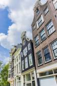 Facades in Amsterdam, Netherlands. — Stock Photo