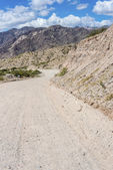Slavná cesta 40 v salta, argentina. — Stock fotografie