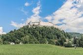 Hohensalzburg schloss (festung hohensalzburg) in salzburg, austri — Stockfoto