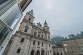 The Salzburg Cathedral (Salzburger Dom) in Salzburg, Austria — Stock Photo