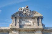 The Alcala Gate in Madrid, Spain. — 图库照片