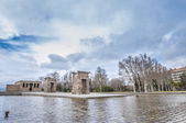 The Temple of Debod in Madrid, Spain. — 图库照片