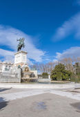 Monument to Philip IV in Madrid, Spain. — Stock fotografie