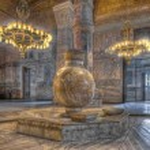 Hagia Sofia Mosque at Istanbul — Stock Photo #65618985