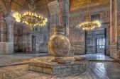 Hagia Sofia Mosque at Istanbul — Stock Photo