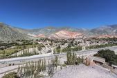 Collina dei sette colori in jujuy, argentina. — Foto Stock