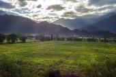 Cachi adentro em salta, norte da argentina — Fotografia Stock