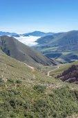 Rota 13 para iruya na província de salta, argentina — Fotografia Stock