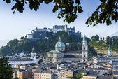 The Salzburg Cathedral (Salzburger Dom) in Salzburg, Austria — Fotografia Stock
