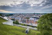 Skyline di Namur, Vallonia, Belgio. — Foto Stock
