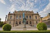 Neo-renaissance building Rudolfinum — Fotografia Stock