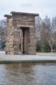The Temple of Debod in Madrid, Spain. — Foto Stock