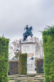 Monument to Philip IV in Madrid, Spain. — Foto Stock