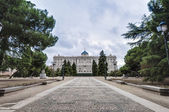 The Sabatini Gardens in Madrid, Spain. — Foto Stock